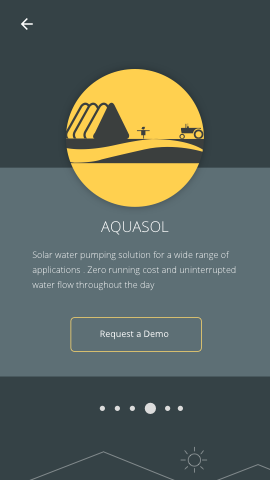 Aqualsol Device Intro Screen